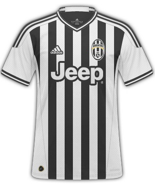 Juventus Adidas kit deal 2015-16 season