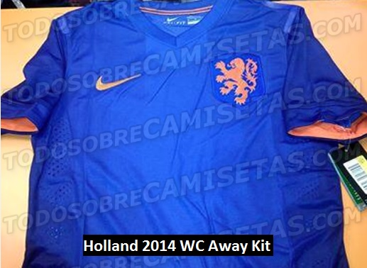 finest selection 1d5e7 6e6bd Nike Holland Kits 2014 World Cup - Home & Away Shirts Leaked