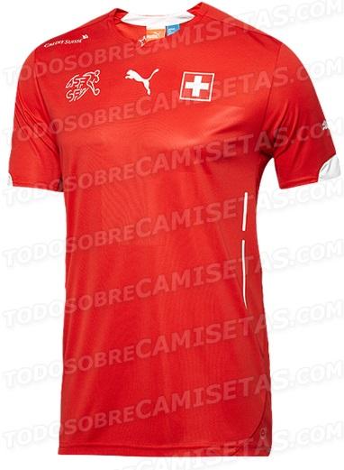 Swiss World Cup kit 2014
