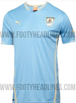 Puma Official Uruguay World CUp 2014 Kit