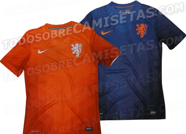 Netherlands 2014 World Cup SHirts Official