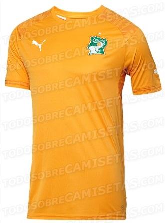 Ivory Coast kit FIFA World cup 2014
