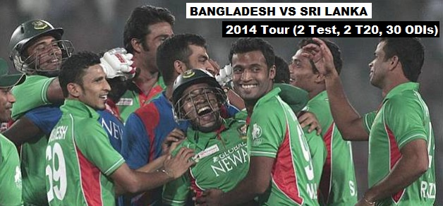Bangladesh vs Sri Lanka 2014 live match