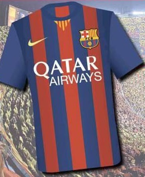 FC Barcelona Nike Home Kit 2014-2015 Leaked