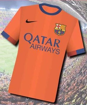 Nike Away Kit 2015 Barcelona