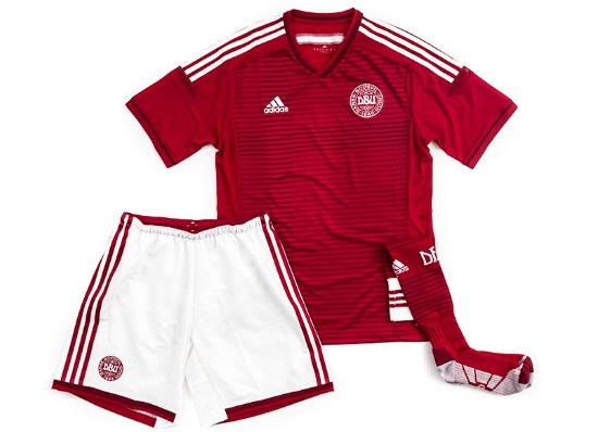 76f71f3f4 Denmark Adidas National Team Kit 2014 Home   Away - Released