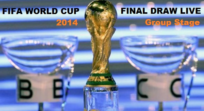 World Cup 2014 Final Draw Live
