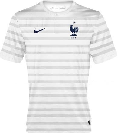 France away 2014 kit