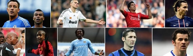 Most hated footballers in the world