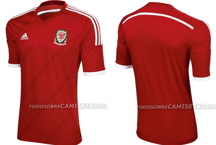 Wales Adidas Kits 2015