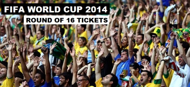 World Cup 2014 knockout stage tickets