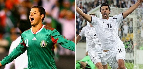 New Zealand vs Mexico Live