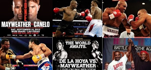 Most expensive boxing fights