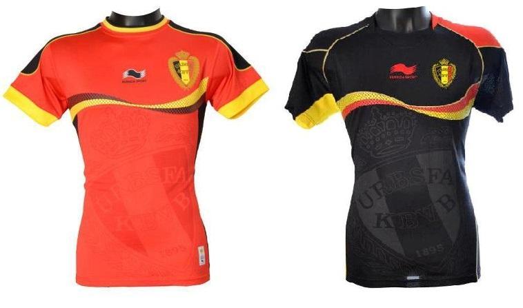 Belgium 2014 home away kits
