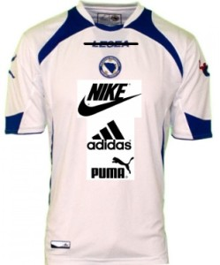 Bosnia 2014 Kits world cup