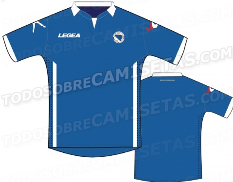 Bosnia legea new wc 2014 home kit ?