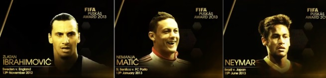 FIFA Puskas award for best goal of the year 2013