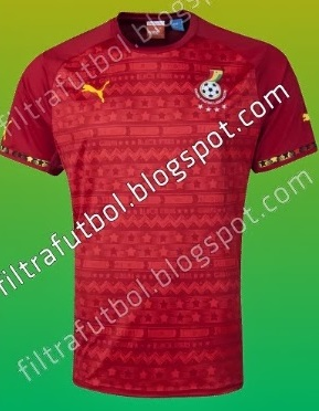 World Cup 2014 Ghana away kit