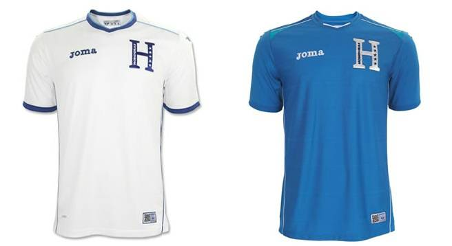 Honduras home away kits