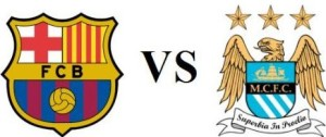 FC barcelona vs Manchester City 2014 date
