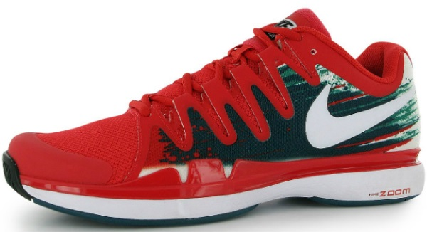Roger Federer 2014 Nike Zoom 9.5 vapor shoes
