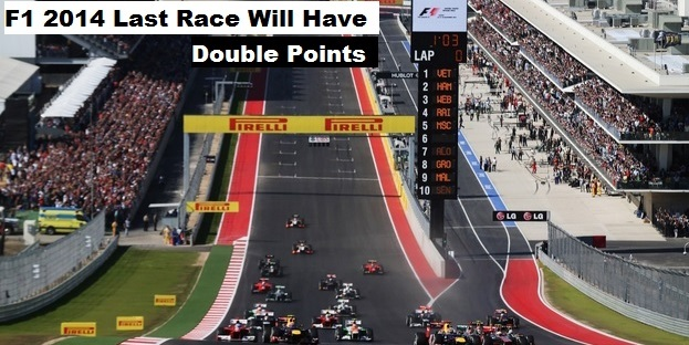 F1 last race worth double points