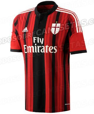 AC Milan 2014-15 home kit leaked