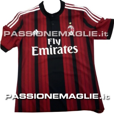 Official AC Milan 2014-2015 kit