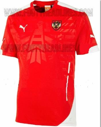Puma Austria 2014 Home jersey Leaked
