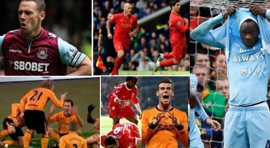 Best goal celebrations in English premier League history