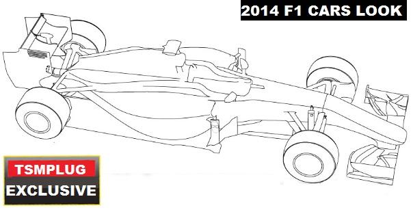 formula 1 cars 2014 look design official cars