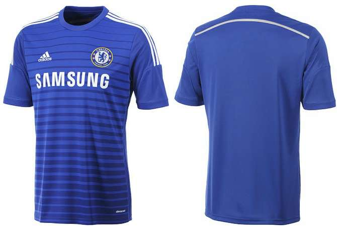 Chelsea 2014-15 Home Away Kit Released