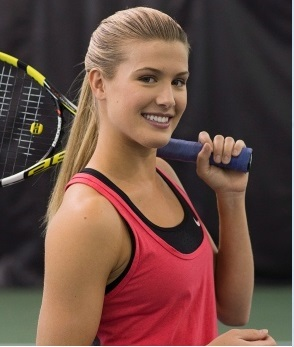 Eugenie Bouchard most beautiful tennis player