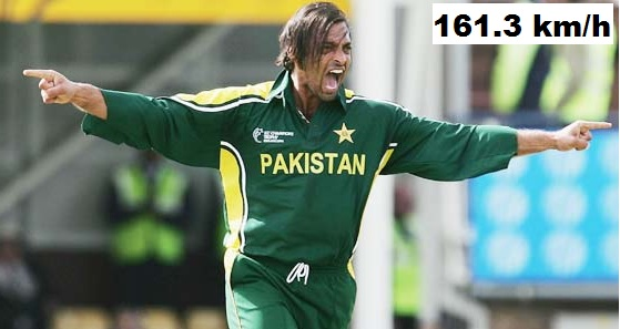 Shoaib Akhtar fastest bowl ever