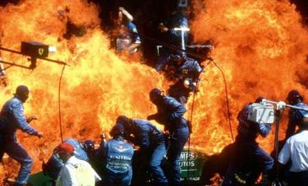 Jos Verstappen (German Grand Prix 1994)