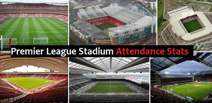 Premier League Stadiums attendance stats