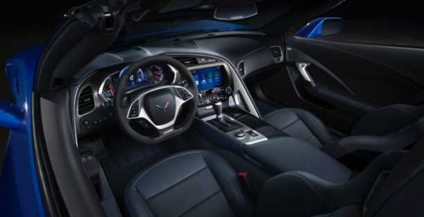 2015 Chevrolet Corvette Z06 dashboard pic