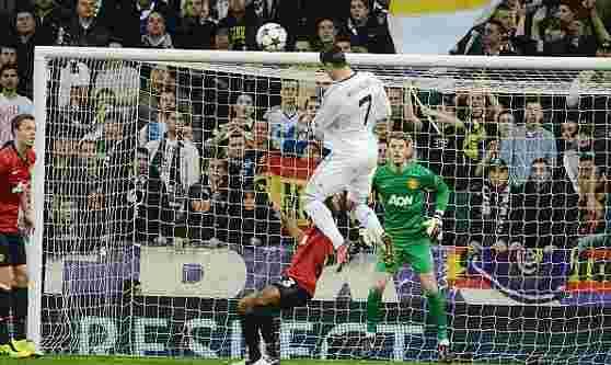 Amazing Ronaldo Jumps