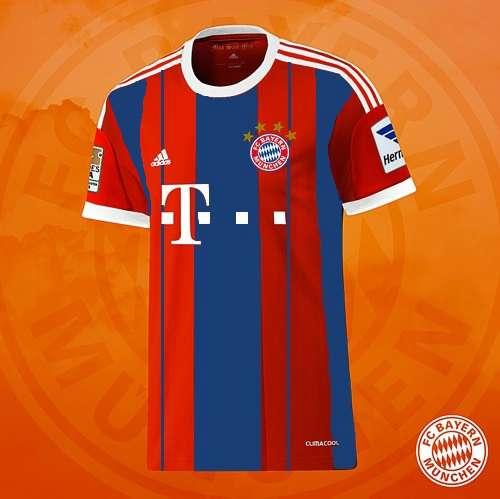Bayern munich 2014-15 home kit leaked