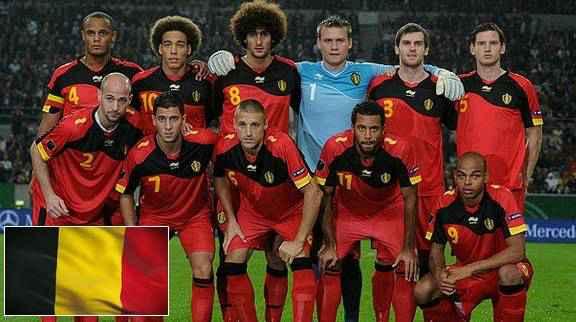 Belgium squad world cup 2014