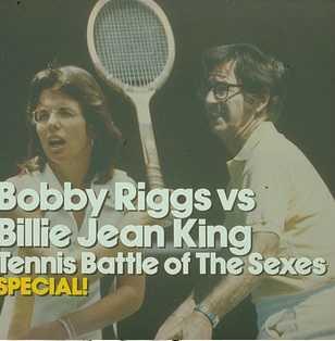 Billie Jean King vs pompous Riggs