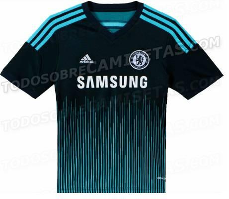 Chelsea 2014-2015 third kit design leaked