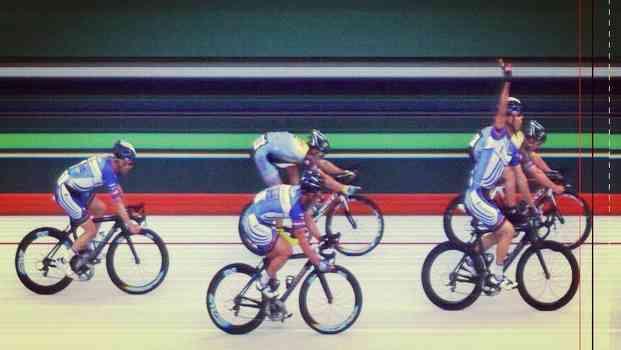 Cyclying celebrations fail
