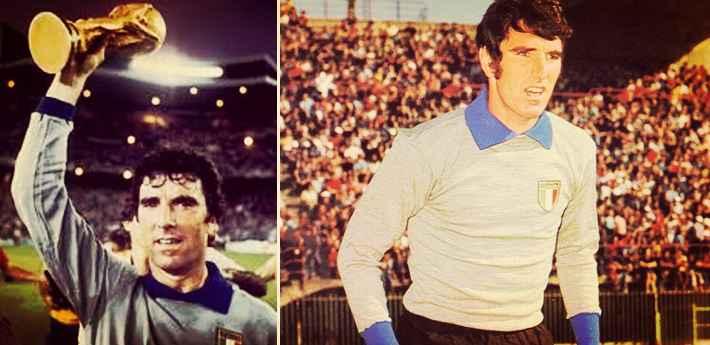 Dino Zoff greatest goalkeeper in the world
