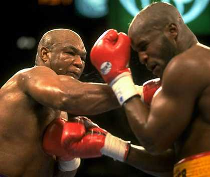 George Foreman vs. Michael Moorer