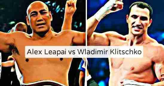 Klitschko vs Leapai Live Stream