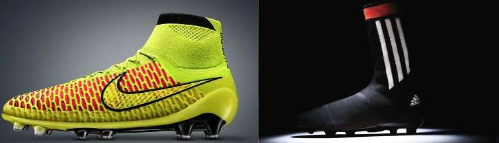 Nike Magista vs Adidas Primeknit FS comparison