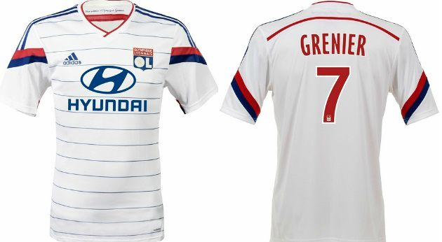 Olympique Lyon 2014 2015 official home kit released