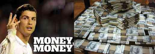 Ronaldo money