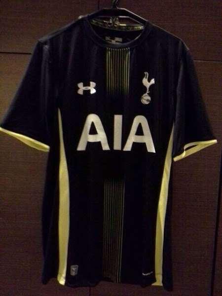 Tottenham 2014-15 away kit leaked